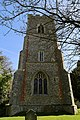 Church of St Martin White Roding Essex England - tower from west.jpg