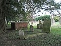 Churchyard at St John the Evangelist, Westbourne - geograph.org.uk - 1146831.jpg