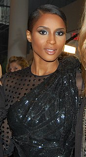 Ciara American singer, songwriter, record producer, dancer, actress, and fashion model
