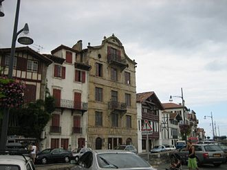 Ciboure - Birthplace of Maurice Ravel in Ciboure