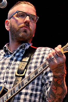 Dallas Green in concerto nel 2011