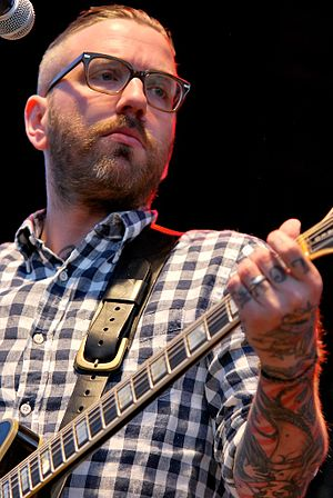 Dallas Green (musician) - Green performing live in Ottawa, 2011