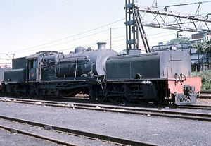 South African Class GE 2-8-2+2-8-2 - Image: Class GE no. 2276