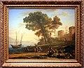 Claude lorrain, paesaggio con artista che studia dal naturale, 1639.jpg