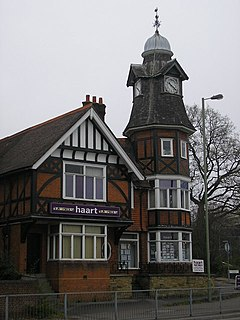 Clock Tower, Farnborough, Hampshire - geograph.org.uk - 1232783.jpg