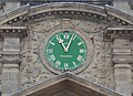 Clock at entrance of Lever House.jpg