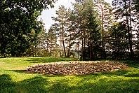 Kurhan na terenie Cmentarzyska Ja�wing�w, kt�rego po�udniowa cz�� po�o�ona jest na terenie Suwa�k