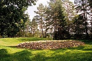 Sudovian kurgan near Suwałki, Poland