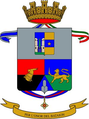 12th Alpini Regiment - Coat of Arms of the 12th Alpini Regiment