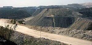 Singrauli Coalfield - Image: Coal mines in singrauli