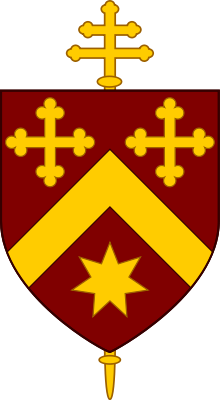 Coat of Arms of the Roman Catholic Archdiocese of Canberra and Goulburn.svg