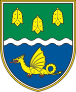 Coat of arm of Žiri.png