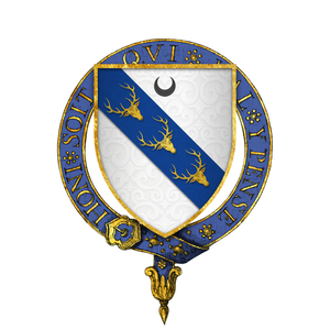Edward Stanley, 18th Earl of Derby - Image: Coat of arms of Sir William Stanley, KG
