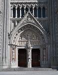 Cobh St. Colman's Cathedral Main Entrance 2015 08 27.jpg