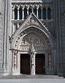 Cobh St. Colman's Cathedral Main Entrance 2015 08 27.jpg