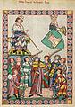 Codex Manesse Heinrich von Meißen (Frauenlob).jpg