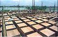 Coffered Formwork - Seminar Halls Ground Floor Roof - Convention Centre Complex - Science City - Calcutta 1994 362.JPG