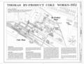 Coke Works - 1952 - Thomas By-Product Coke Works, 1200 Tenth Street West, Thomas, Jefferson County, AL HAER ALA,37-THOS,6- (sheet 2 of 7).png