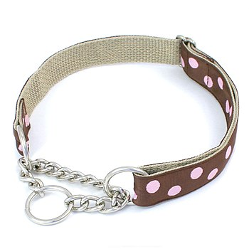 English: Chain Martingale Dog Collar by http:/...