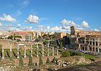 Colosseum and Via Sacra (Rome).jpg