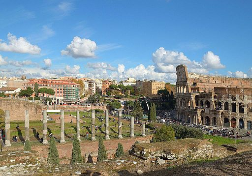 Colosseum and Via Sacra (Rome)
