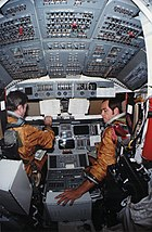 Columbia STS-1 training