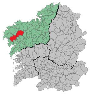Xallas - Image: Comarca Xallas