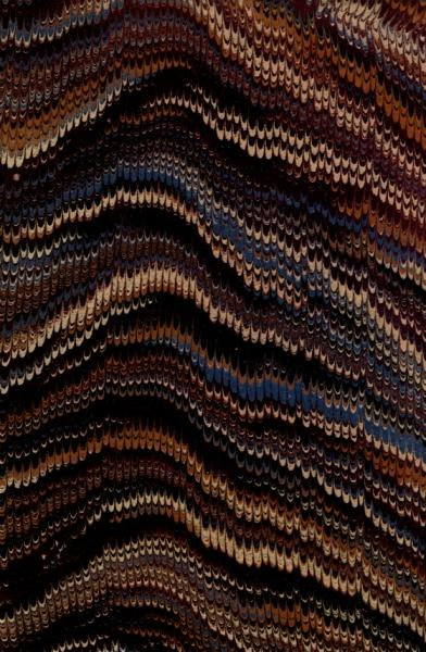 Combed Marbled Design (London, 1847)