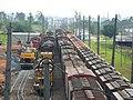 Comboios em cruzamento no pátio da Estação Ferroviária de Itu - Variante Boa Vista-Guaianã km 202 - panoramio (2).jpg