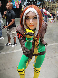 Comikaze Expo 2011 - a deadly kiss from Rogue (6324614721).jpg