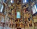 Como Basilica di Sant'Abbondio Interno Coro Affreschi 7.jpg