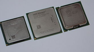 Heat spreader - Image: Comparison of Intel and AMD Microprocessor Integrated Heatspreaders