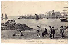 Concarneau le Port ND phot.jpg