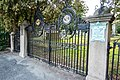 Congregation of the Sons of Israel and David Cemetery-gates Providence.jpg