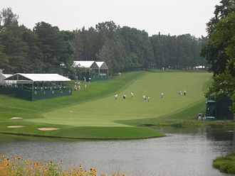 Devereux Emmet - 18th hole (formerly the 17th) of the Blue Course of the Congressional Country Club