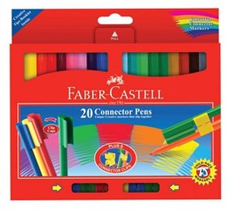 Connector pen - A Faber-Castell Connector Pen package