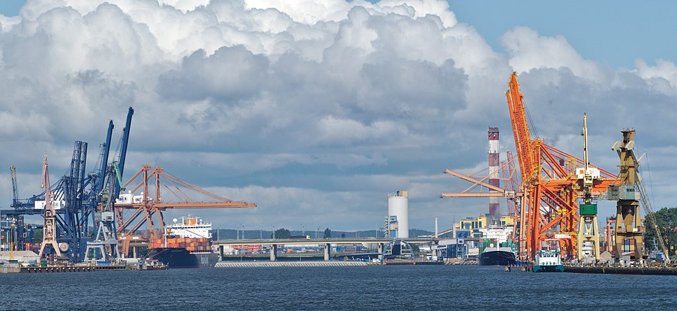 Container terminals in Gdynia