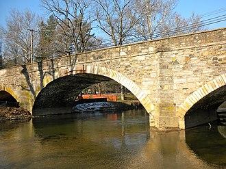 Strasburg Road - Cope's Bridge, built 1828