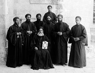 Coptic Orthodox Church of Alexandria - Coptic monks, between 1898 and 1914