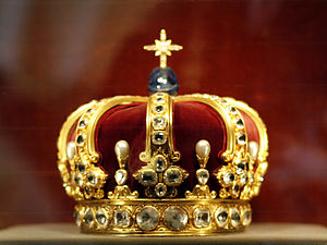 Prussian Crown Jewels - Crown of William II, Hohenzollern Castle