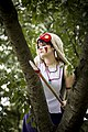 Cosplayer of San from Princess Mononoke 20140824.jpg