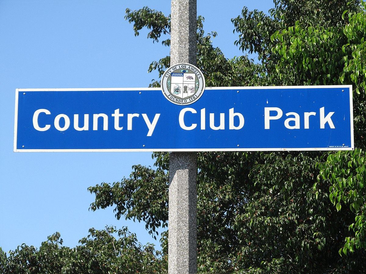 country club park  los angeles