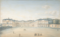 Courtyard of the Château de Saint-Cloud by Victor Jean Nicolle in circa 1830.png