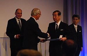 Tadamitsu Kishimoto - Kishimoto receives the Crafoord Prize