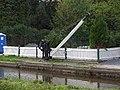 Crane at Maesbury Marsh Wharf, Montgomery Canal - geograph.org.uk - 46950.jpg