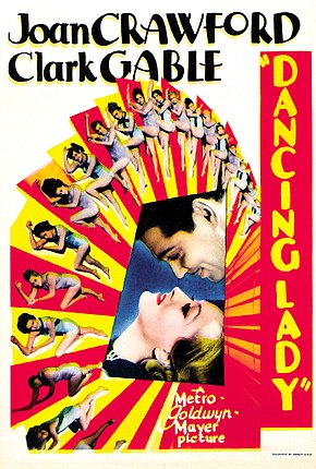 Description de l'image Crawford gable astaire dancinglady poster.jpg.