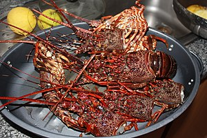 Cuisine of Mozambique - Image: Crayfish heads