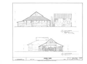 Crews Farm, Macclenny, Baker County, FL HABS FL-398 (sheet 21 of 24).png