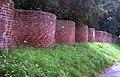 Crinkle Crankle wall opposite church - geograph.org.uk - 797378.jpg