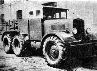 "Hispano-Argentina - Hispano-Argentina ""Criollo"" 6x6 truck"